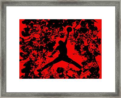 Air Jordan 1b Framed Print by Brian Reaves