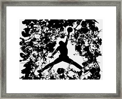 Air Jordan 1c Framed Print