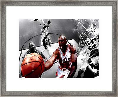 Air Jordan 5g Framed Print by Brian Reaves