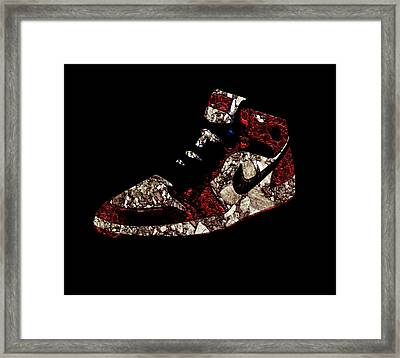 Air Jordan Historic Artifact Framed Print