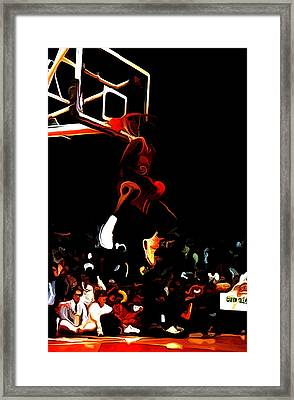 Air Jordan In Flight 04c Framed Print