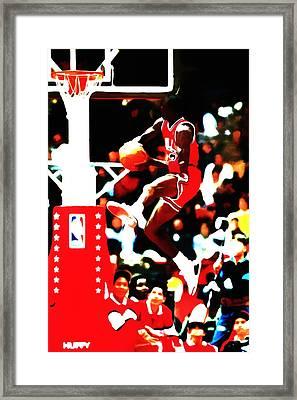 Air Jordan In Flight 5b Framed Print