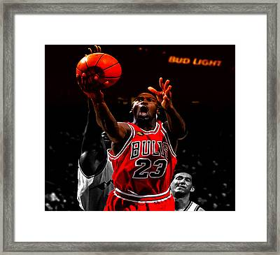 Air Jordan Soft Touch II Framed Print by Brian Reaves