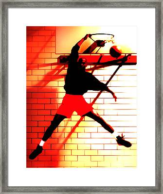 Air Jordan Where It All Started Framed Print by Brian Reaves