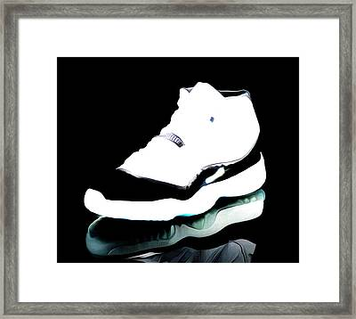 Air Jordans S3 Framed Print by Brian Reaves