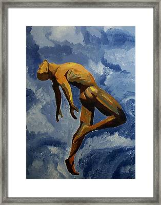 Air Framed Print by Mats Eriksson