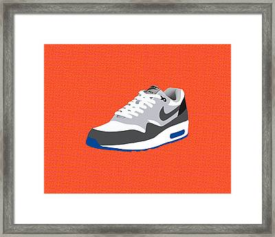 Air Max 1 Framed Print by Mark Rogan