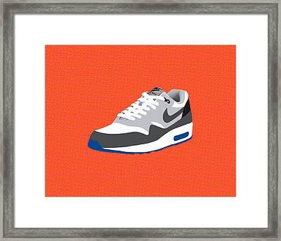 Air Max 1 Framed Print by Mark Rogan