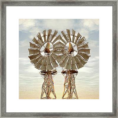 Air Pair Framed Print by Wendy J St Christopher