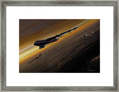Air Power Legends Framed Print by Peter Chilelli