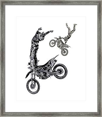 Framed Print featuring the photograph Air Riders by Caitlyn Grasso