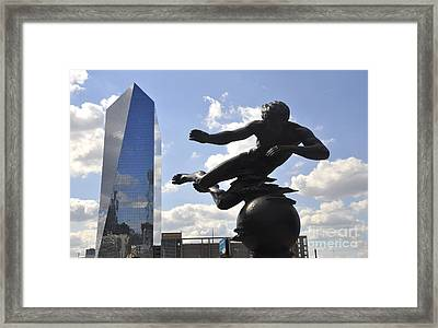 Air Sculpture Framed Print by Andrew Dinh