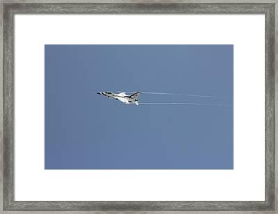 Air Show Framed Print by Michael Dillard