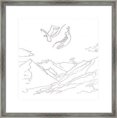Air Spirit 14 Framed Print by Alma