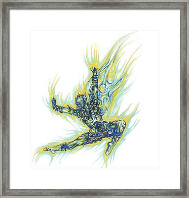 Air Spirit 19 Framed Print by Alma