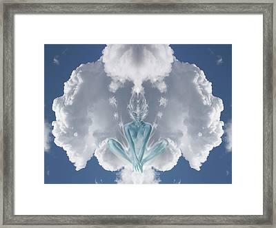 Air Spirit 2 Framed Print by Alma