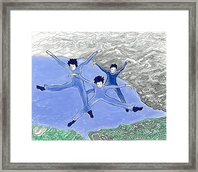 Air Spirit 4 Framed Print by Alma