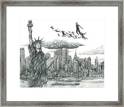 Air Spirit 86 Framed Print by Alma
