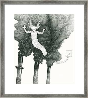 Air Spirt 87 Framed Print by Alma