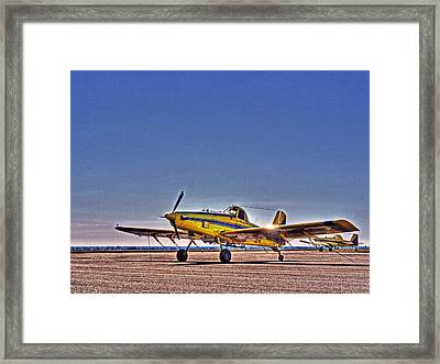 Air Tractor Framed Print by William Fields