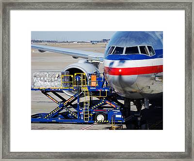 Air Transportation. Framed Print by Fernando Barozza