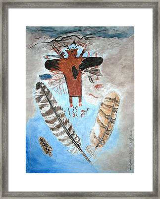 Air Framed Print