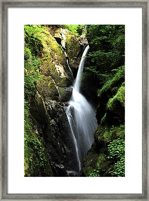 Aira Force Waterfall Framed Print by Martin Newman