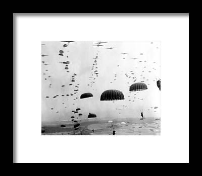 Combat Framed Prints