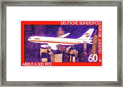 Airbus A300 Framed Print