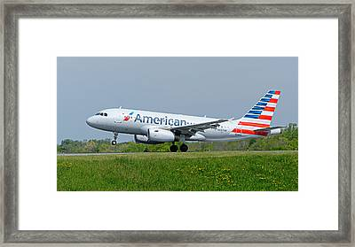Airbus A319 Framed Print