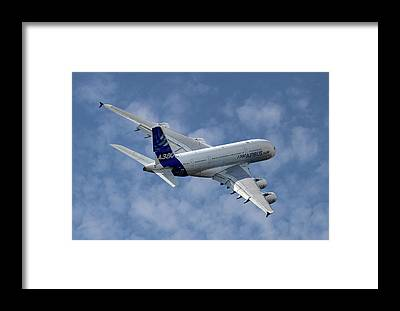 Airbus A380 Framed Prints