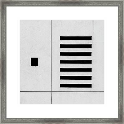 Aircon Framed Print