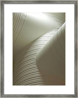 Airconditioned Sculpture Framed Print