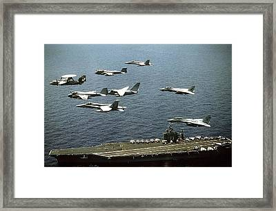 Aircraft Assigned Framed Print by Everett