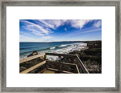 Aireys Inlet Lookout Framed Print by Jorgo Photography - Wall Art Gallery