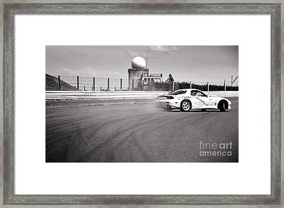 Airfield Drifting Framed Print by Andy Smy