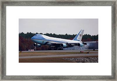 Airforce One Framed Print by Brooke Bowdren