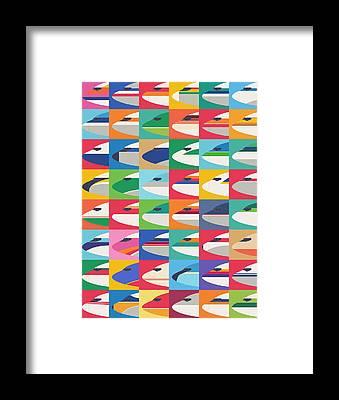 Boeing Framed Prints