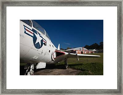 Airplane At A Historic Site, Tuskegee Framed Print