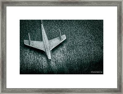 Airplane Hood Ornament Framed Print