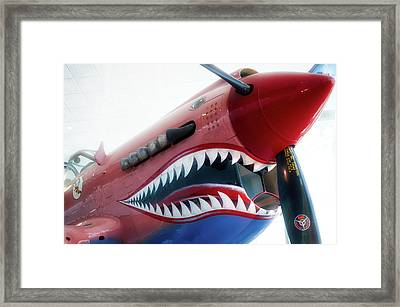 Airplanes Flying Tigers Propeller Framed Print
