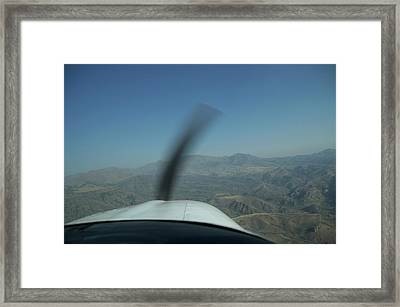 Airplanes Jackson Wyoming Area Framed Print by Thomas Woolworth