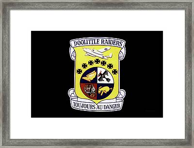 Airplanes Military Doolittle Raiders Decal Framed Print