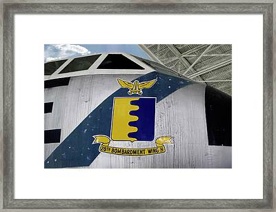 Airplanes Military Strategic Air Command 28th Bombardment Wing H Decal Framed Print