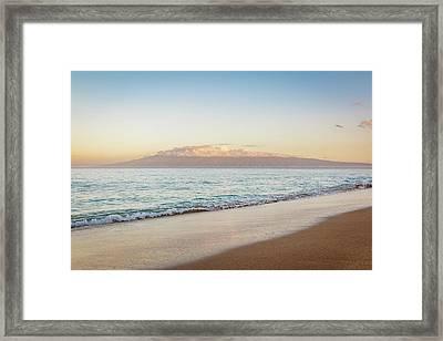Airport Beach Maui Framed Print by Cory Huchkowski