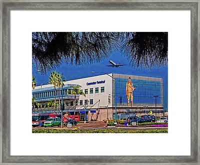 Airport Framed Print by Chris Lord