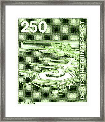 Airport Framed Print