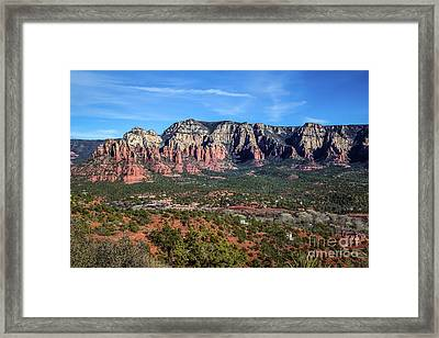 Airport Road View Framed Print