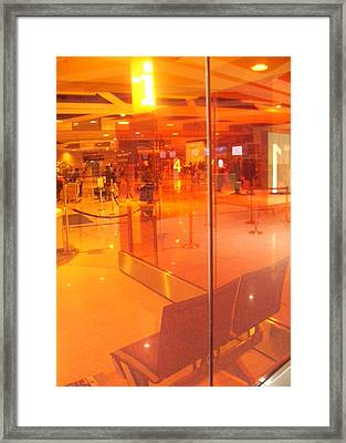 Airport-terminal Framed Print by Ramon Labusch