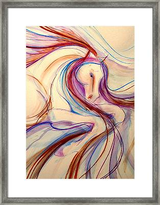 Airs Above The Ground Framed Print